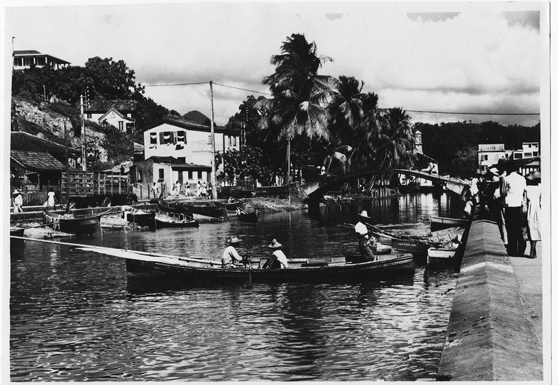 Martinique, Fort-de-France, 1953