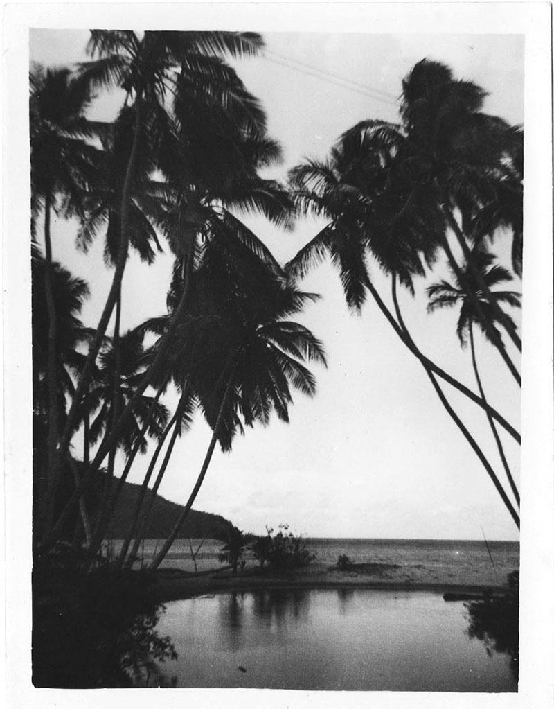 Martinique, le Carbet, 1953