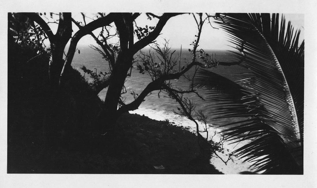 Martinique, 1953, village de grand rivière
