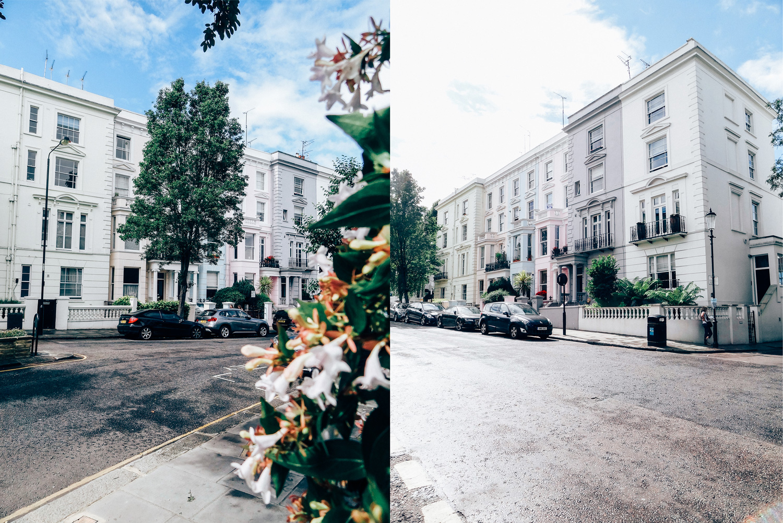 Voyager à Londres avec ouibus - Notting hill - hellolaroux