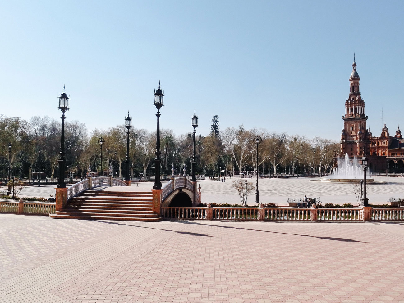 voyage à Séville, plaza españa - hellolaroux.com