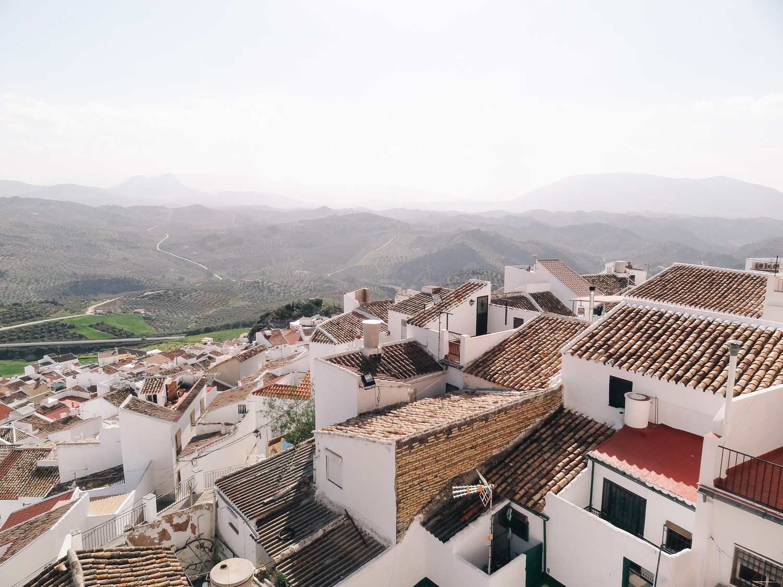 blog voyage, Olvera, route des villages blancs - andalousie