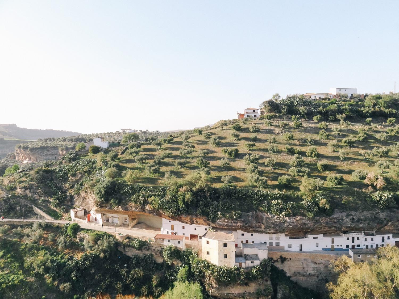 blog voyage, Setenil de las Bodegas, route des villages blancs - andalousie