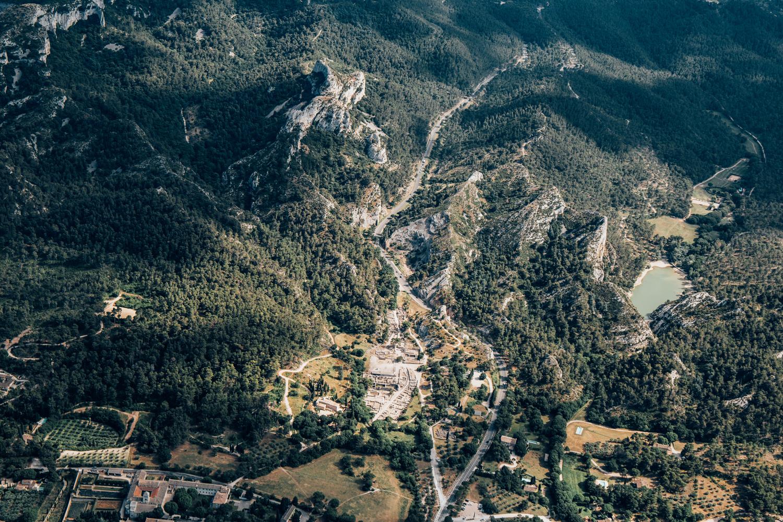 survoler les Alpilles - Saint Rémy de Provence