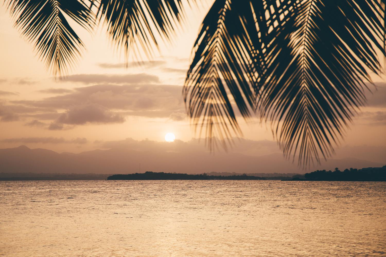 coucher de soleil guadeloupe