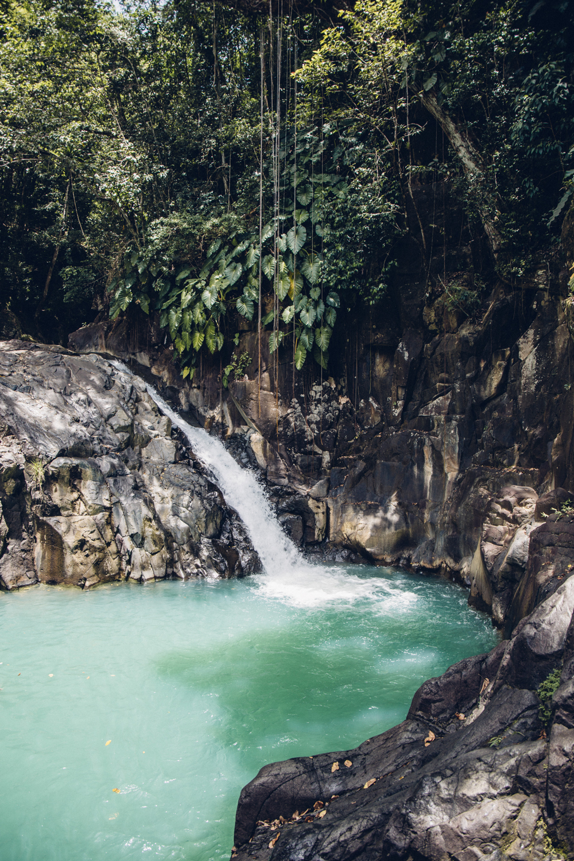 saut d'acomat, cascade Guadeloupe