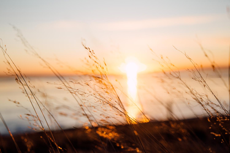sunset Islande