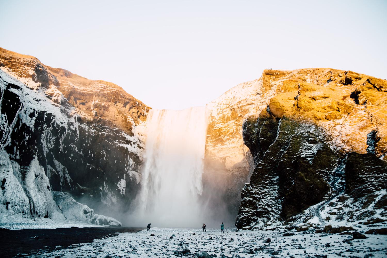 visiter l'islande, cercle d'or, Skogafoss