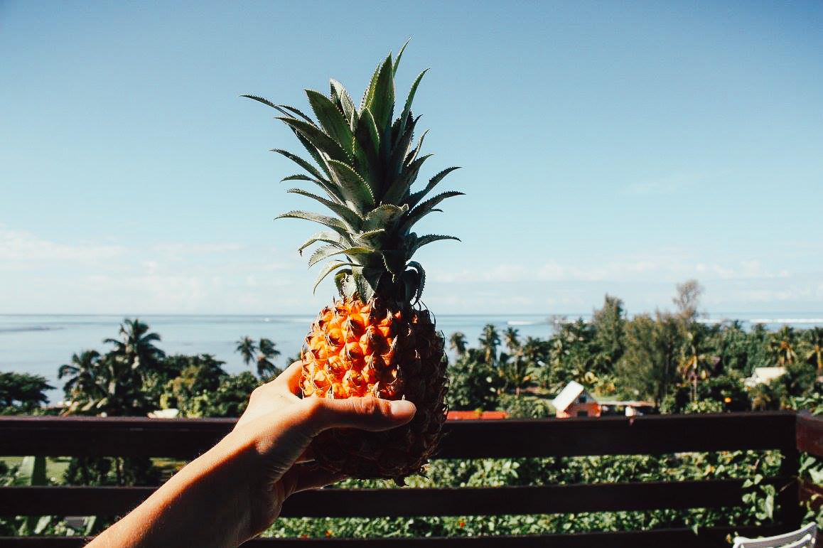voyager quand on est végétarien, expérience en Polynésie française
