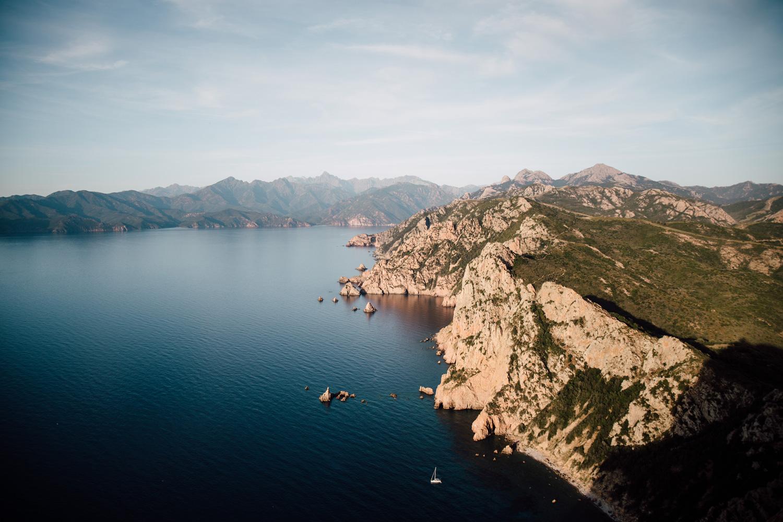 Hiking in Corsica - Capu Rossu, Scandola