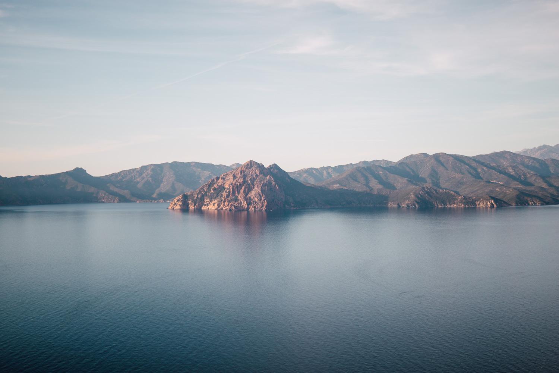 visiter la Corse - réserve naturelle de Scandola