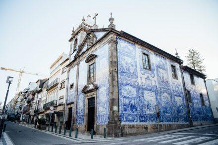 visiter Porto, azulejos bleus