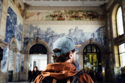 que visiter à Porto : la gare São Bento