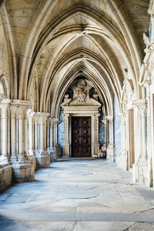 visiter Porto : la cathédrale Sé do Porto et ses azulejos