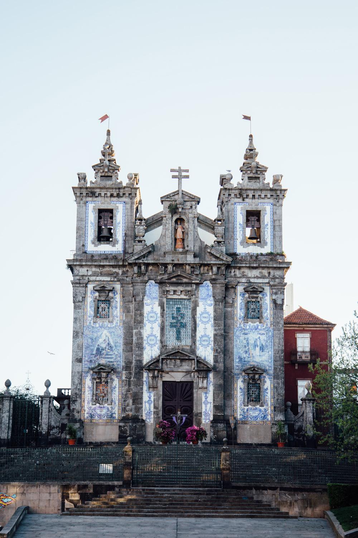 visiter Porto, que voir ? l'Église Santo Ildefonso