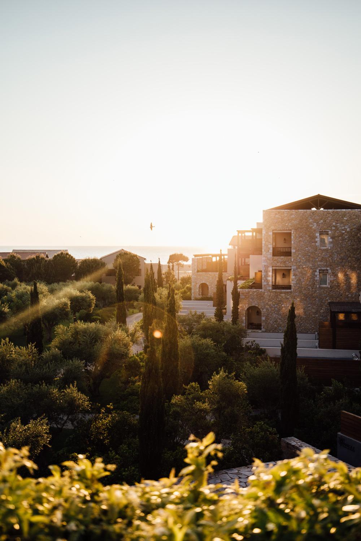 Costa Navarino - coucher de soleil grece