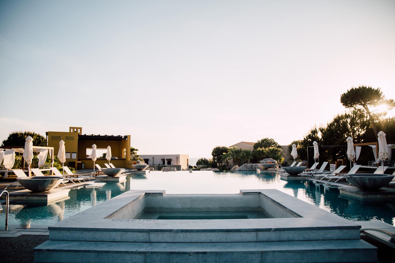 Costa Navarino - hotel de luxe Grece