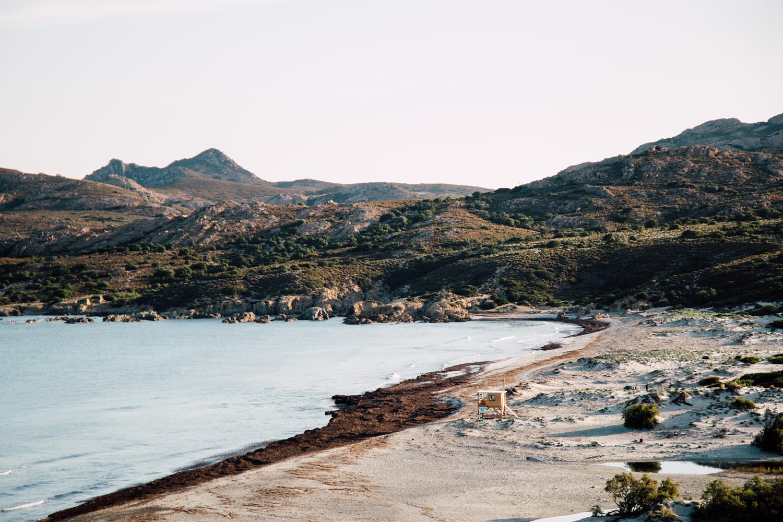 Désert des agriates - camping sauvage Corse