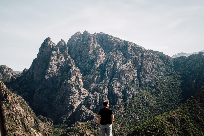 Paysage Corse - le centre de la Haute-Corse