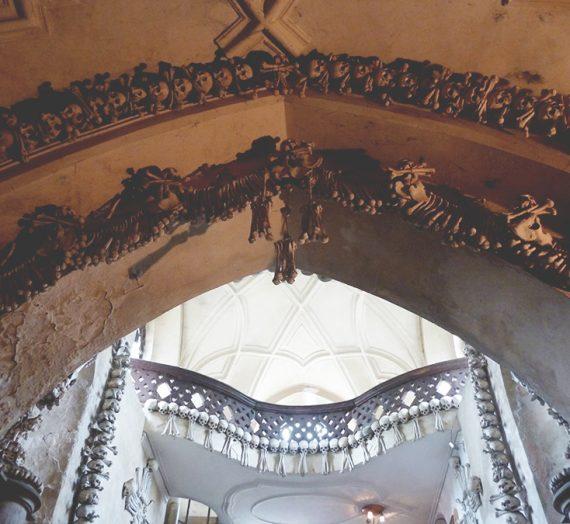 Prague / L'ossuaire de Sedlec