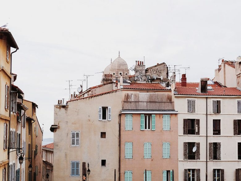 Marseille, une balade automnale dans le Panier