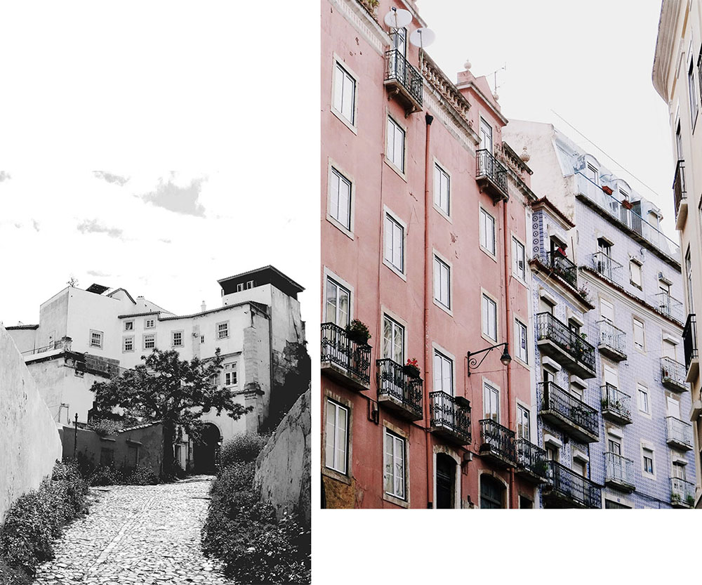 que faire à Lisbonne ? visiter l'Alfama