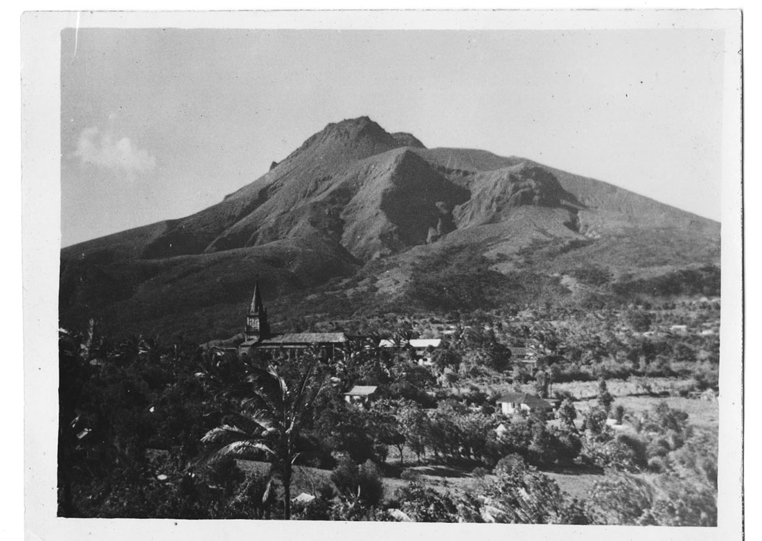 Martinique, Mont Pelé 1953