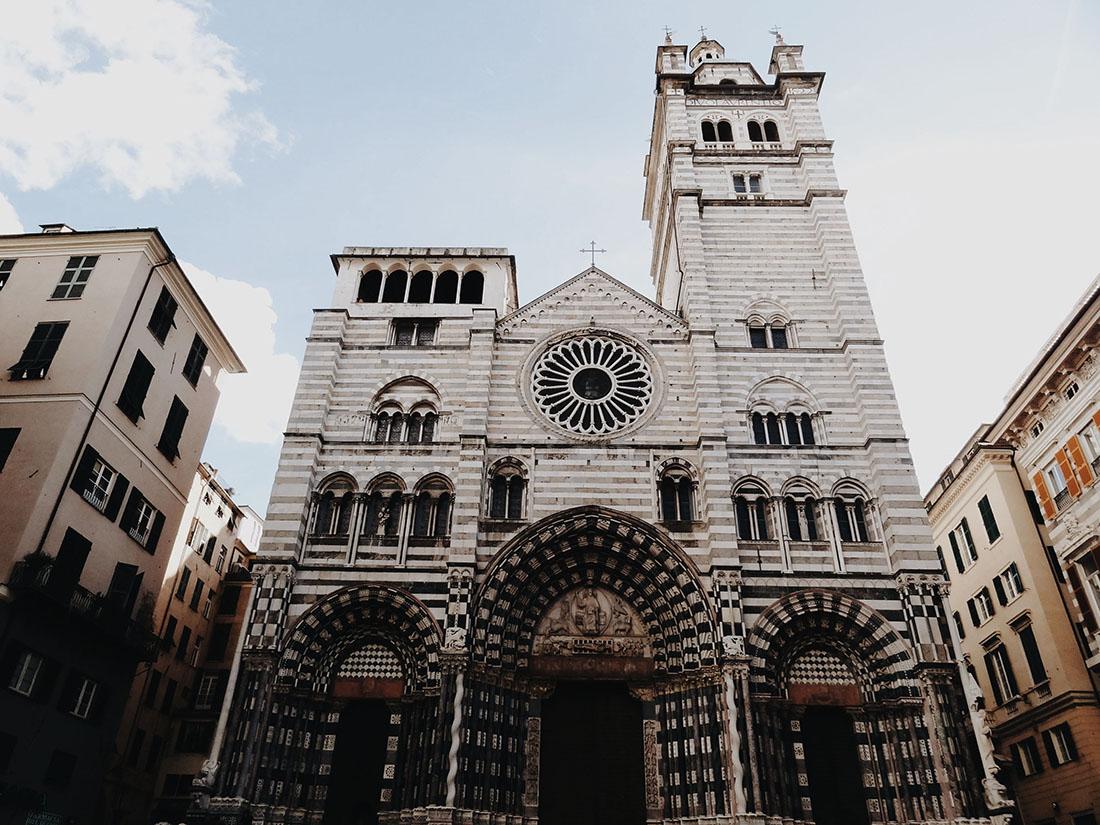 visiter Gênes, architecture baroque