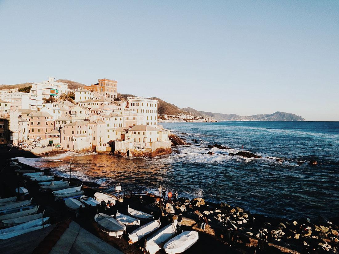 visiter Gênes, quartier de Boccadasse