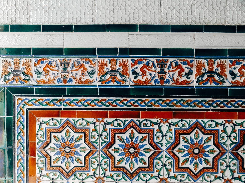 road trip Andalousie - azulejos