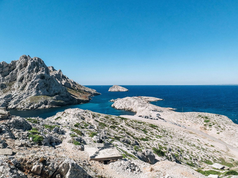 calanques de Marseille - la Baie des singes