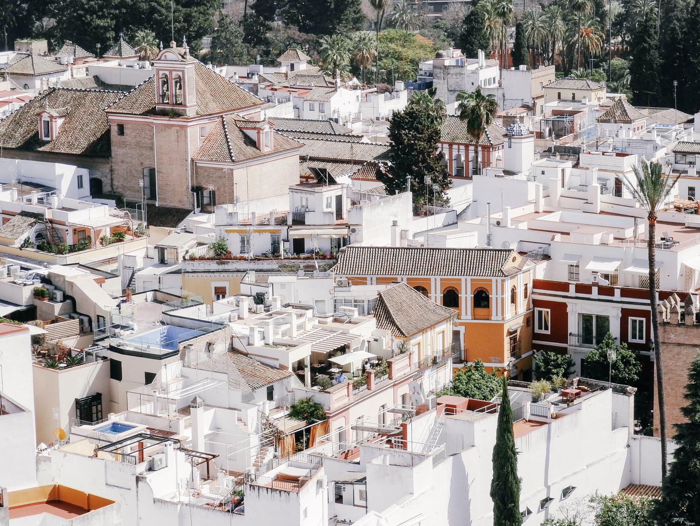 Vue de la Giralda, Séville