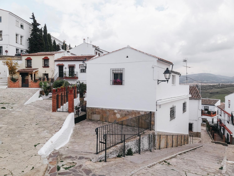 jolies ruelles de Ronda en Andalousie
