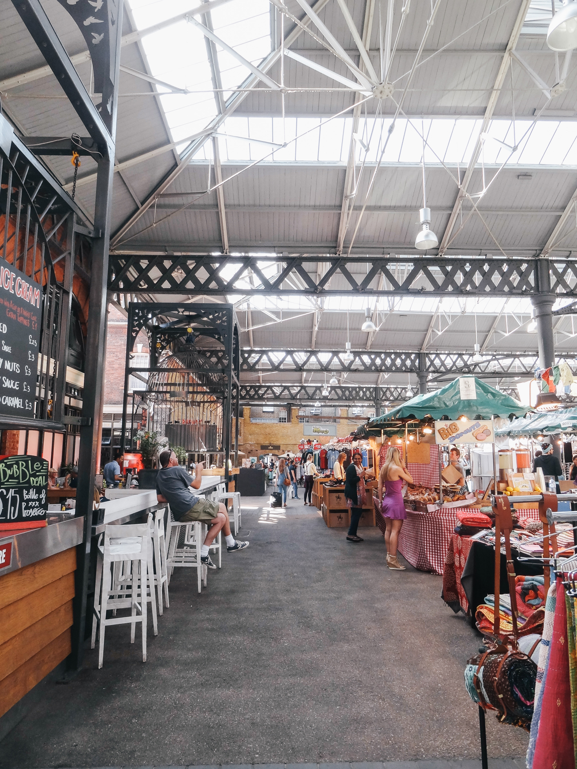 East end, London, Old Spitafields market