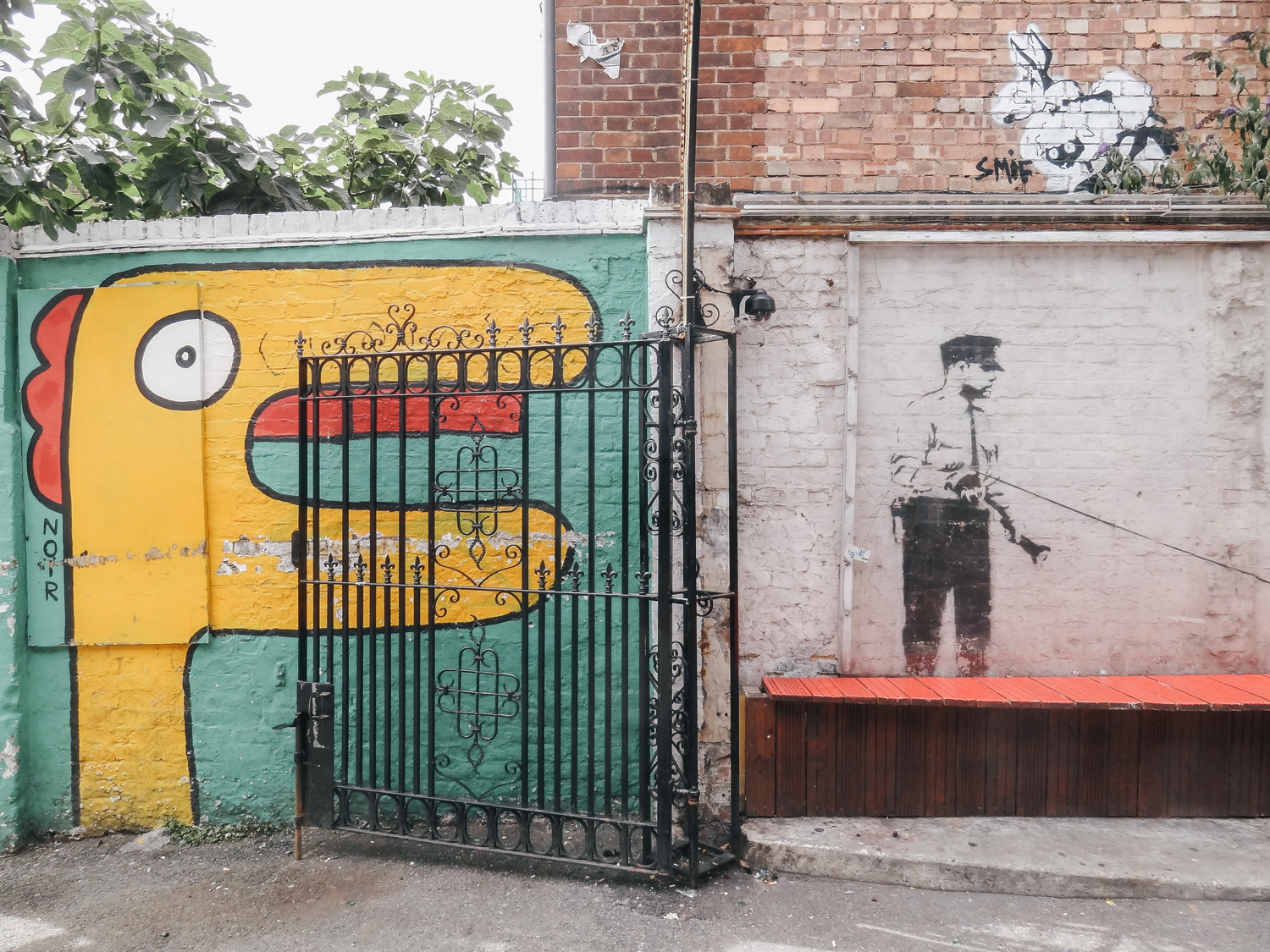 East end, London street art, blog voyage