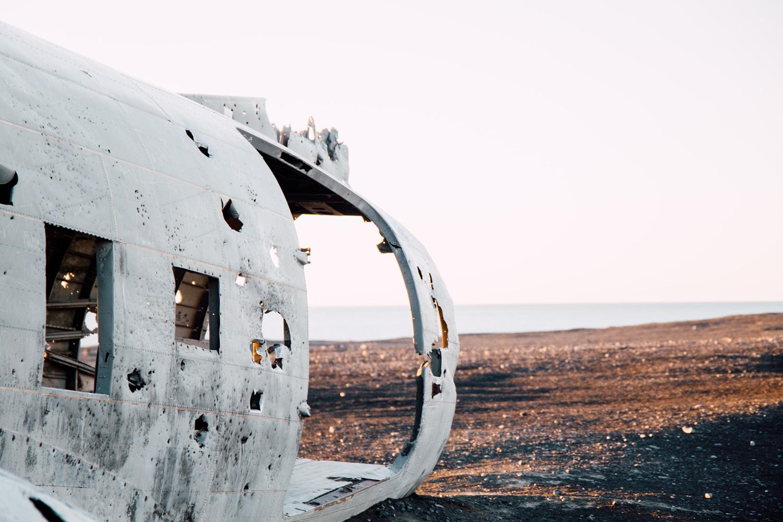 stopover Islande, epave DC3
