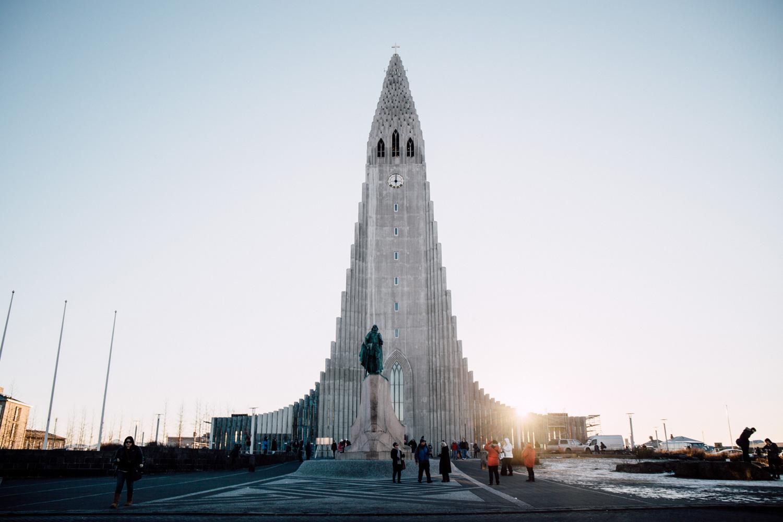 visiter Reykjavik - Hallgrimskirkja