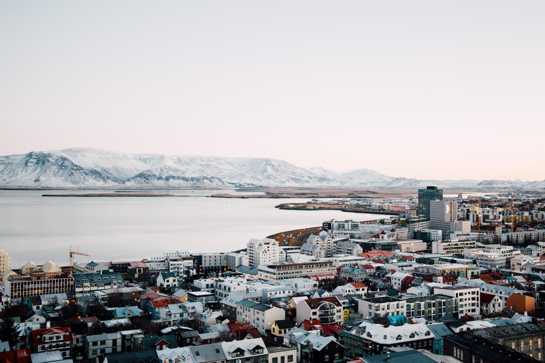 vue depuis Hallgrímskirkja
