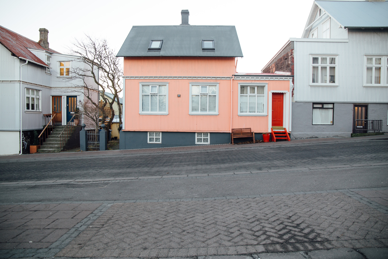 les maisons colorées de Reykjavik en Islande