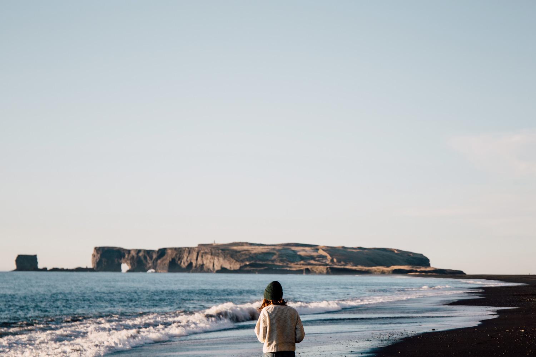 voyager en islande en hiver, Vik, blog voyage