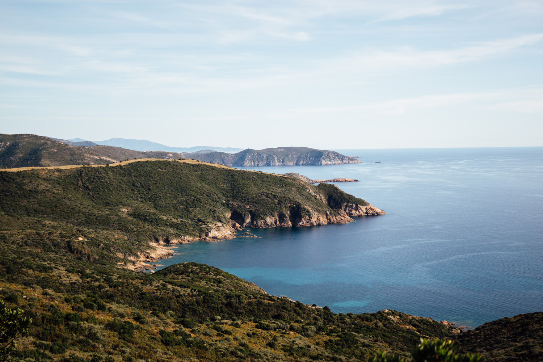 randonnée et paysage Capo Rosso