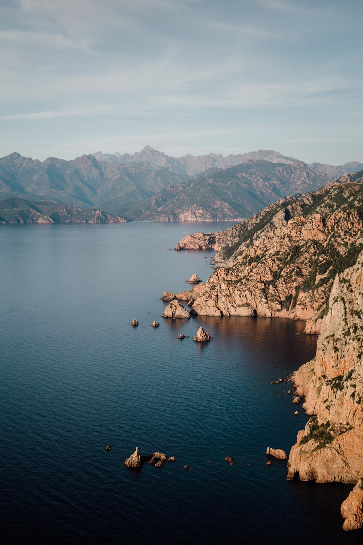Capo Rosso hiking