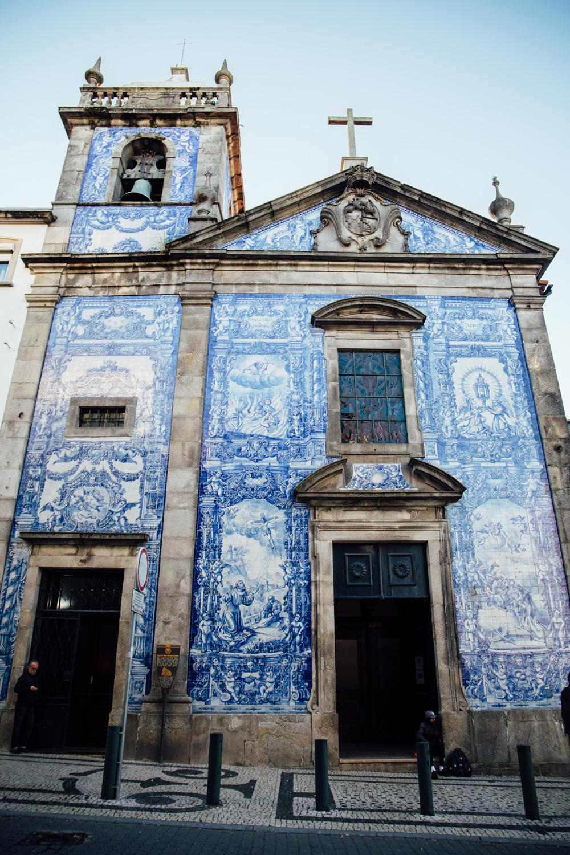 voir des azulejos à Porto
