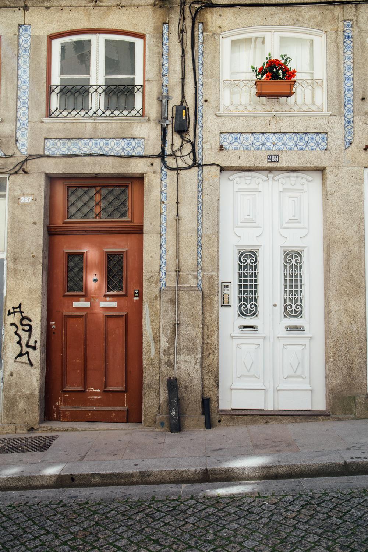 façade colorée Porto