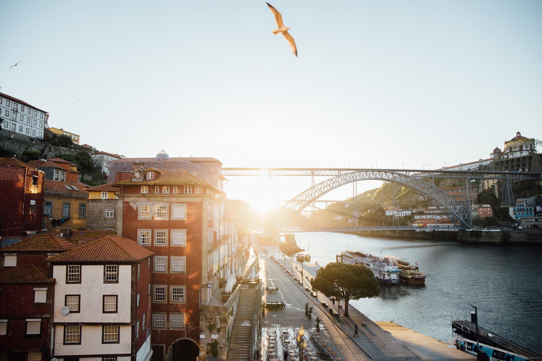 lever de soleil Porto