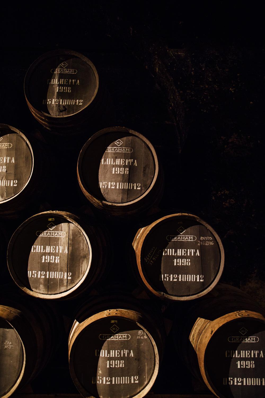 visiter les caves Grahams à Porto