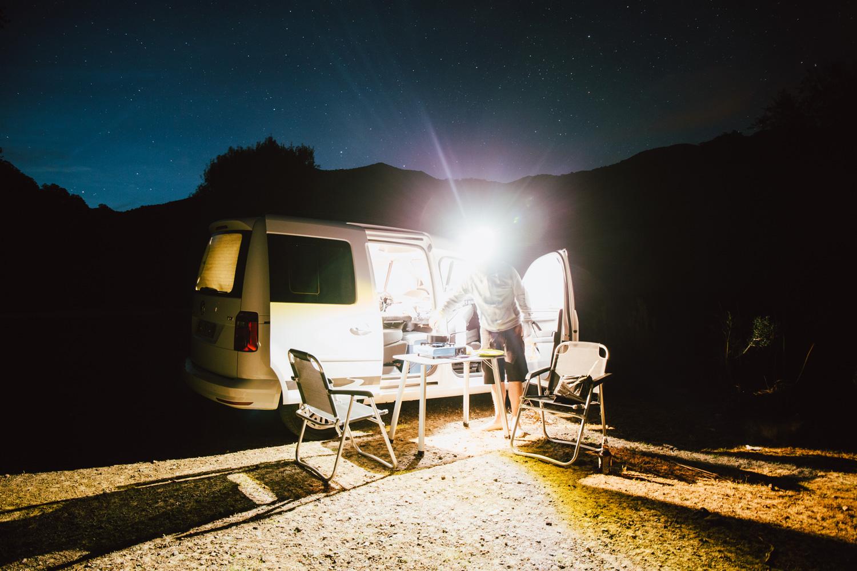 dormir sous les étoiles en Corse