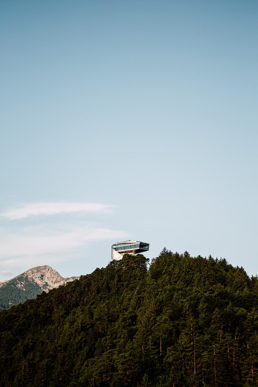 tremplin de Bergisel Zaha Hadid Innsbruck