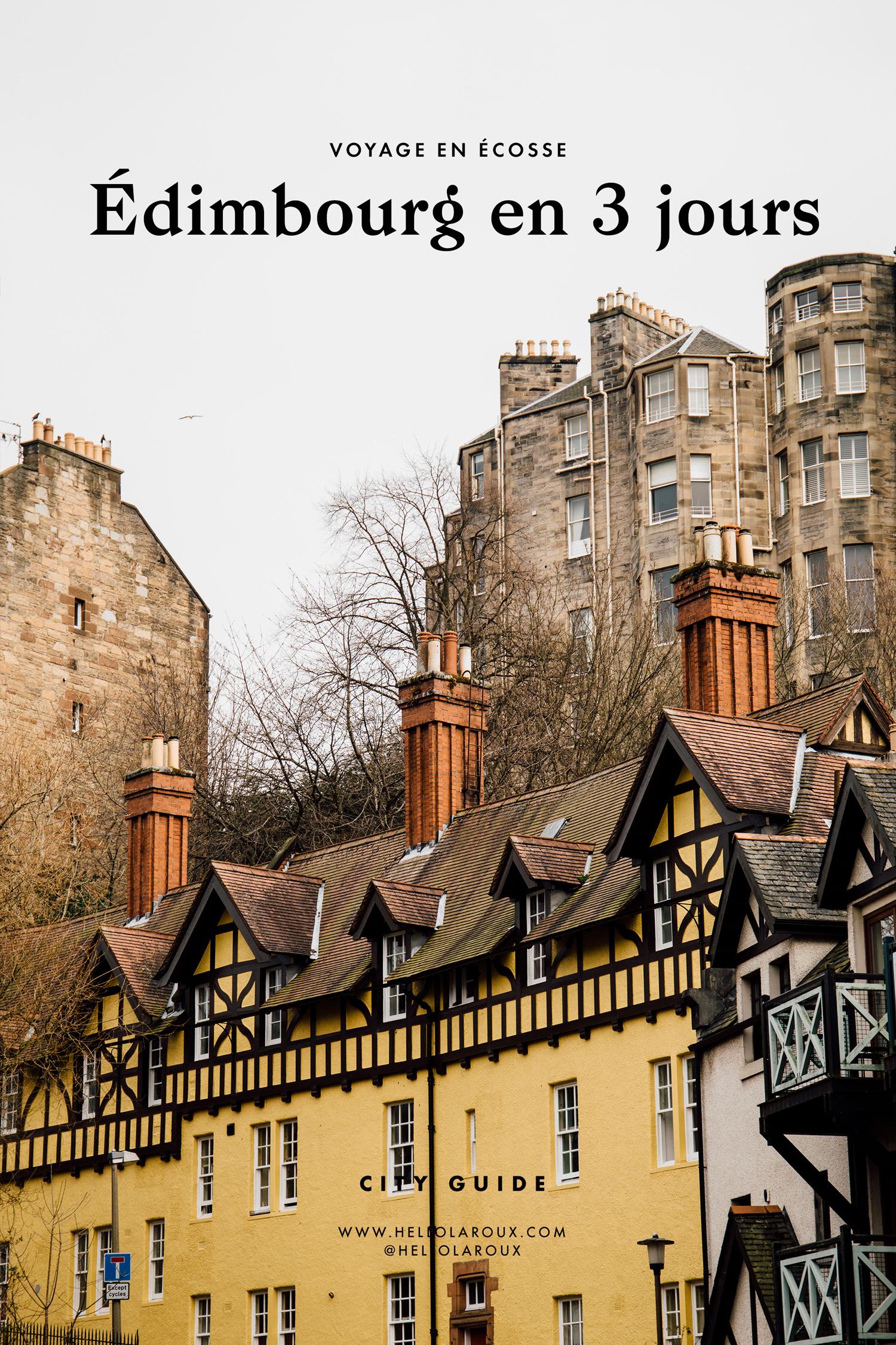 Visiter Édimbourg, le guide (Écosse) - que voir, que visiter et que faire à Edimbourg