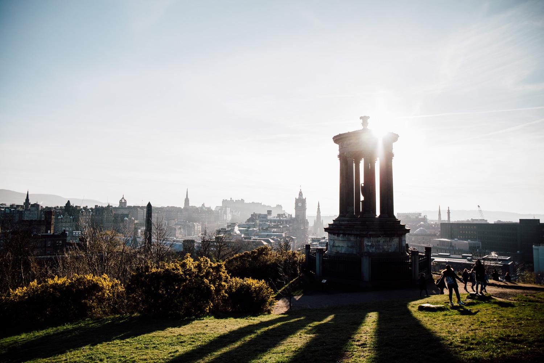 que voir à Édimbourg ? visiter Calton hill